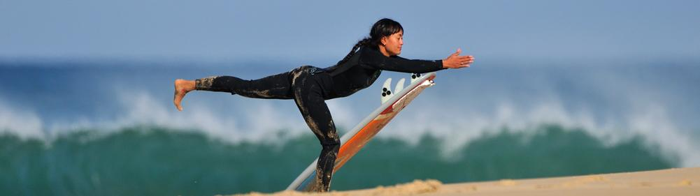 Yoga and surf retreat in Hossegor South West France